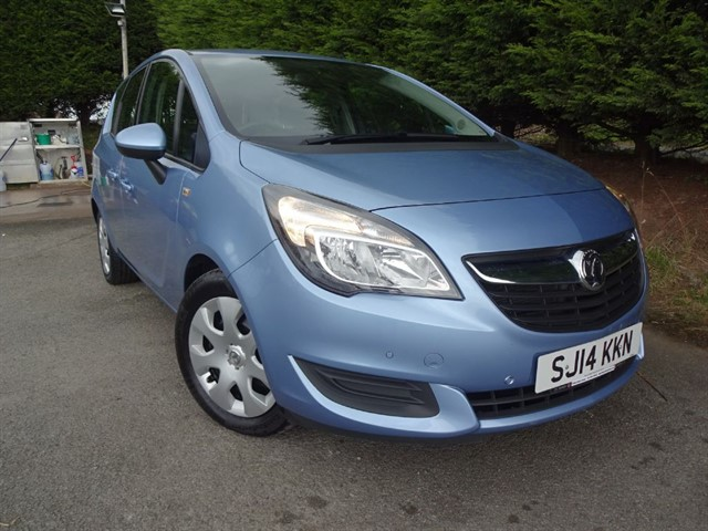 used Vauxhall Meriva CDTI Ecoflex Exclusiv (135bhp) in herefordshire-for-sale