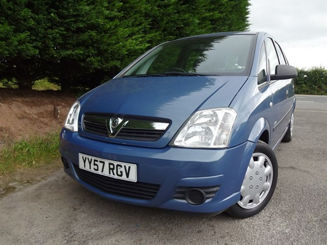 used Vauxhall Meriva Life (100bhp) in herefordshire-for-sale