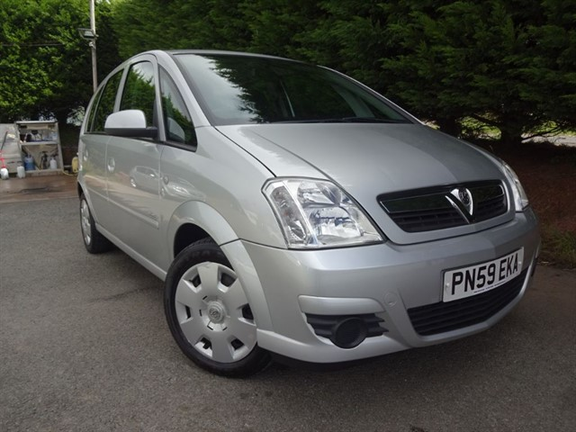used Vauxhall Meriva Club (90bhp) in herefordshire-for-sale