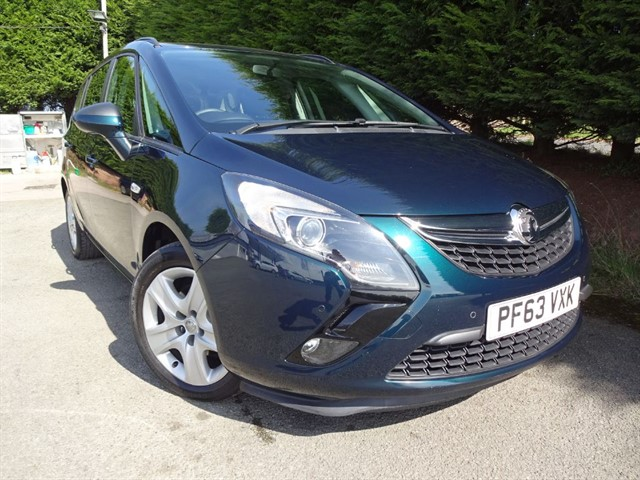 used Vauxhall Zafira Tourer CDTI Exclusiv (130bhp) (7xSeat) in herefordshire-for-sale