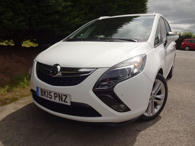 used Vauxhall Zafira Tourer CDTI SRI (130bhp) (7 x Seat) in herefordshire-for-sale