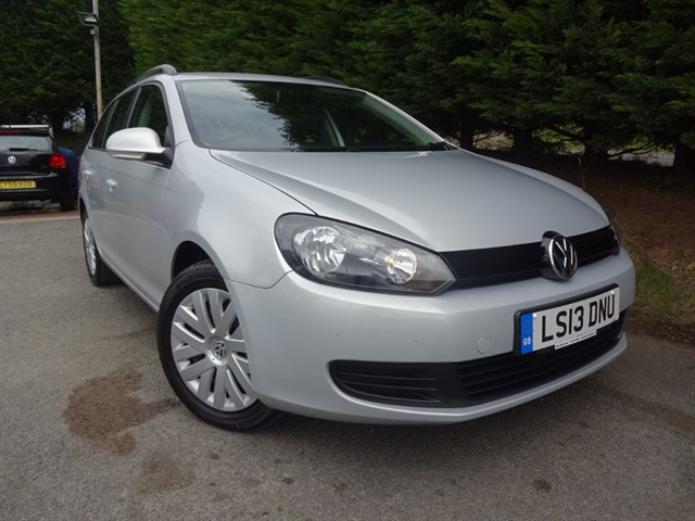 used VW Golf TDI Bluemotion S (Estate) (105bhp) in herefordshire-for-sale