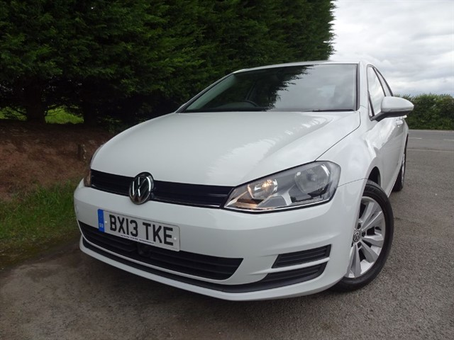 used VW Golf TDI SE Bluemotion DSG (105bhp) in herefordshire-for-sale