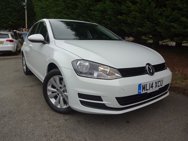 used VW Golf TDI SE Bluemotion-Tech (105bhp) in herefordshire-for-sale