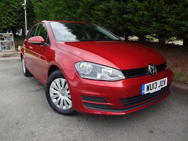 used VW Golf TDI S Bluemotion-Tech (105bhp) in herefordshire-for-sale