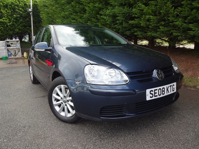 used VW Golf TDI Match (105bhp) in herefordshire-for-sale