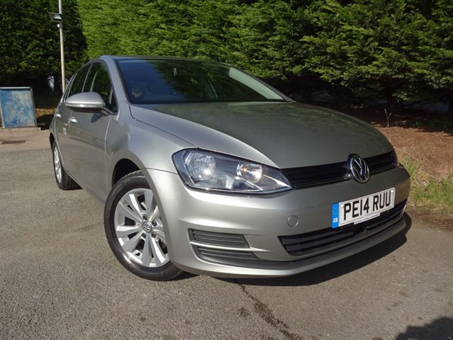 used VW Golf TSI SE Bluemotion-Tech (120bhp) in herefordshire-for-sale