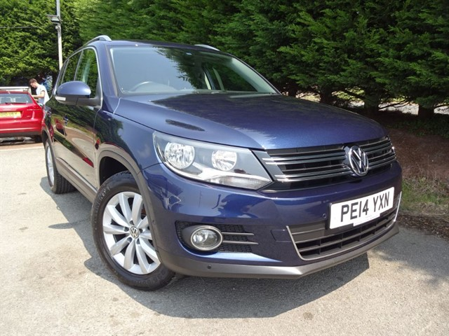 used VW Tiguan TDI Match Bluemtoion-Tech (140bhp) in herefordshire-for-sale