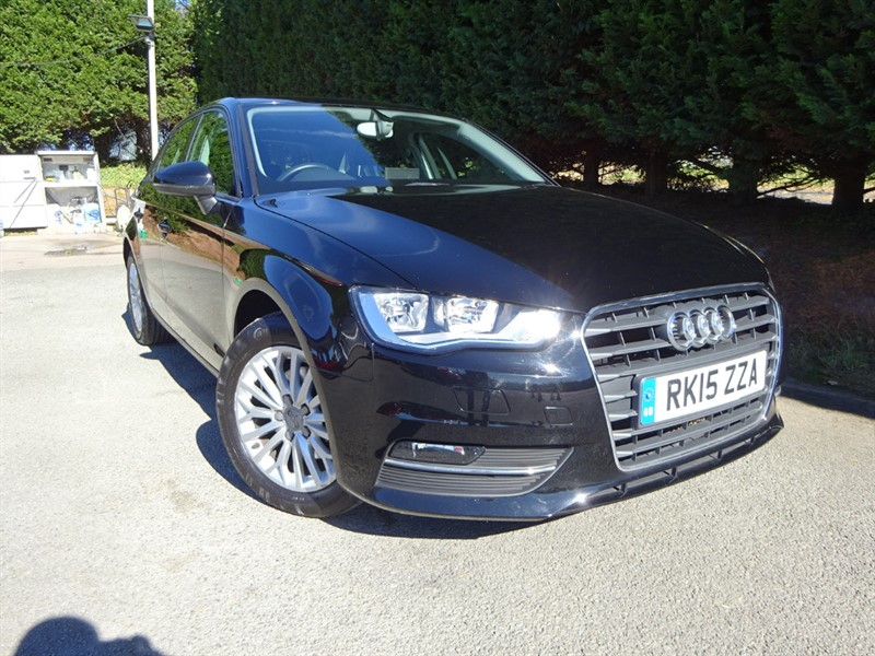 used Audi A3 TDI SE Technick (110bhp) (NAV) in herefordshire-for-sale