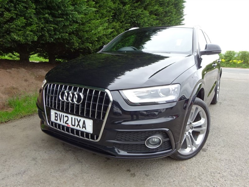 used Audi Q3 TDI Quattro S-Line (AWD) (175bhp) in herefordshire-for-sale