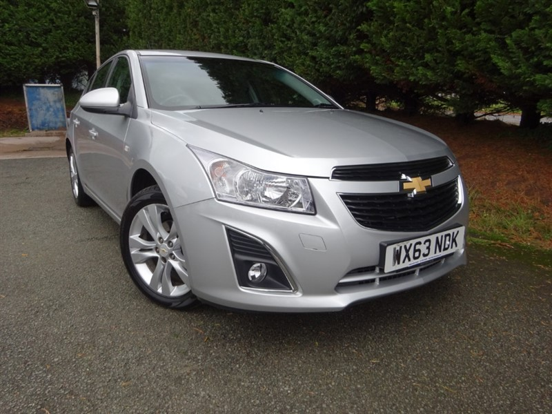 used Chevrolet Cruze LTZ (140bhp) in herefordshire-for-sale