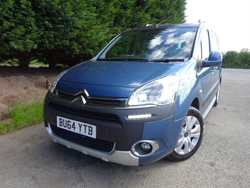 used Citroen Berlingo Multispace HDI XTR (90bhp) in herefordshire-for-sale