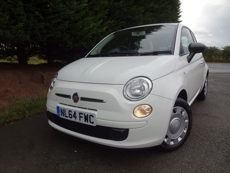 used Fiat 500 Pop (70bhp) (Leather) in herefordshire-for-sale