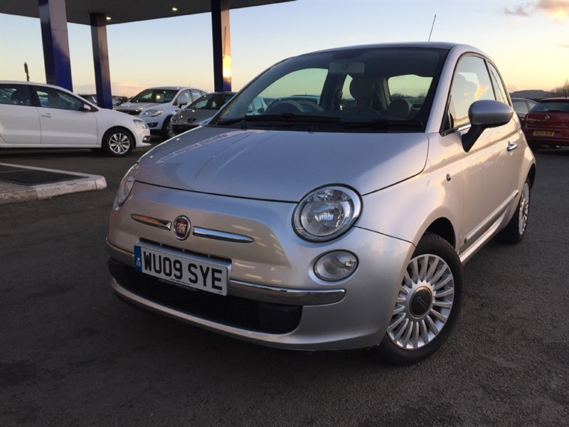 used Fiat 500 Lounge (100bhp) in herefordshire-for-sale