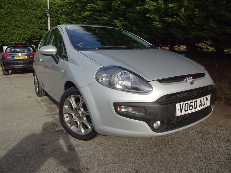 used Fiat Punto Evo GP (75bhp) in herefordshire-for-sale