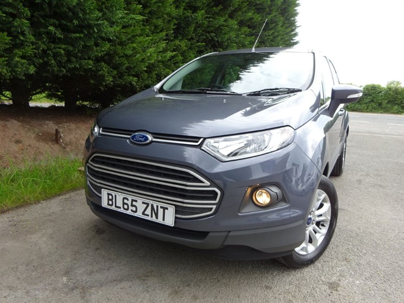 used Ford EcoSport TDCI Zetec (95bhp) in herefordshire-for-sale