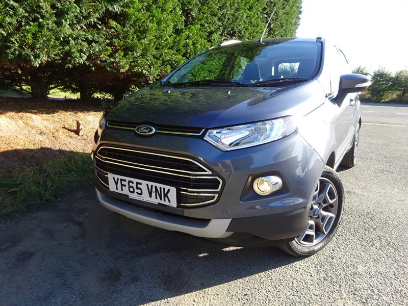 used Ford EcoSport TDCI Titanium (95bhp) in herefordshire-for-sale