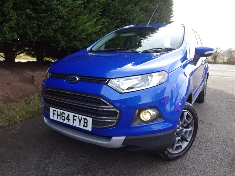 used Ford EcoSport Titanium X-Pack (125bhp) in herefordshire-for-sale