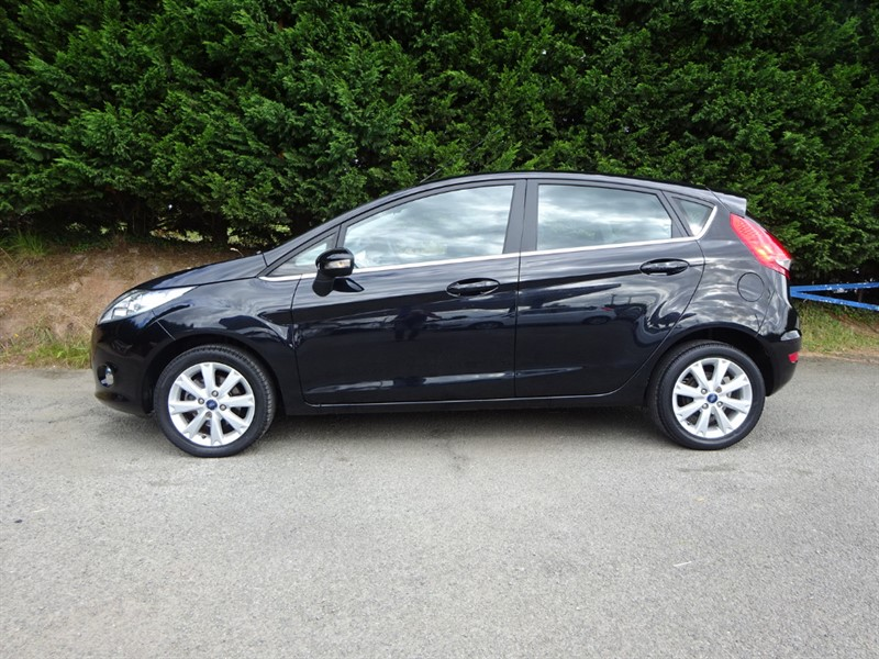 used Ford Fiesta Zetec (80bhp) in herefordshire-for-sale