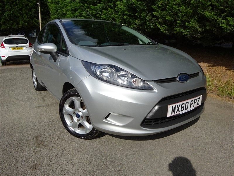 used Ford Fiesta Edge (A/C) (80bhp) in herefordshire-for-sale