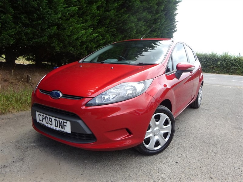 used Ford Fiesta Style Plus (80bhp) in herefordshire-for-sale