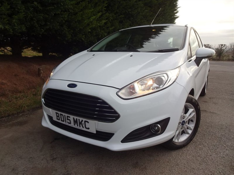 used Ford Fiesta TDCI Zetec (75bhp) in herefordshire-for-sale
