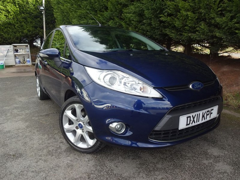 used Ford Fiesta TDCI Titanium (70bhp) in herefordshire-for-sale