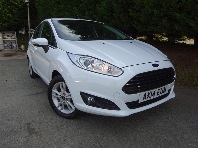used Ford Fiesta Ecoboost Zetec (100bhp) in herefordshire-for-sale