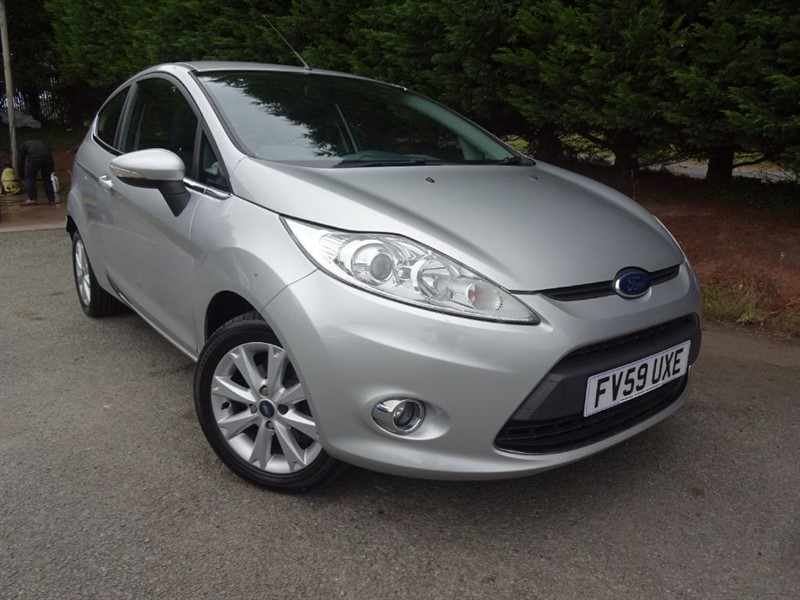 used Ford Fiesta Zetec (95bhp) in herefordshire-for-sale