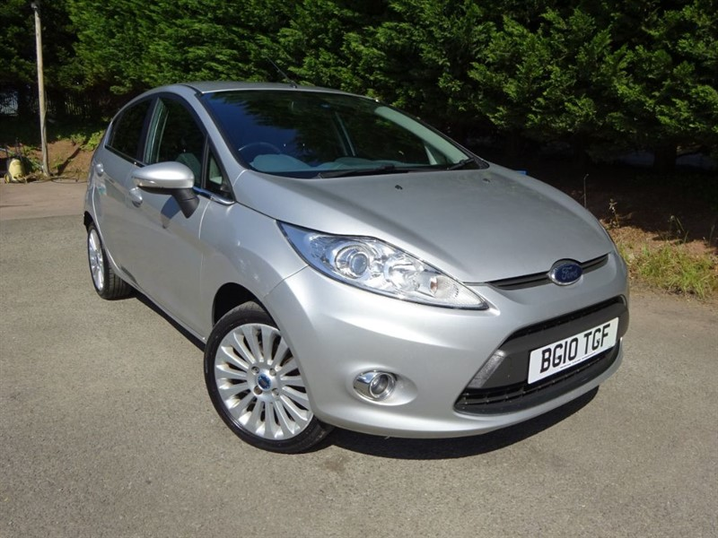 used Ford Fiesta Titanium (95bhp) in herefordshire-for-sale
