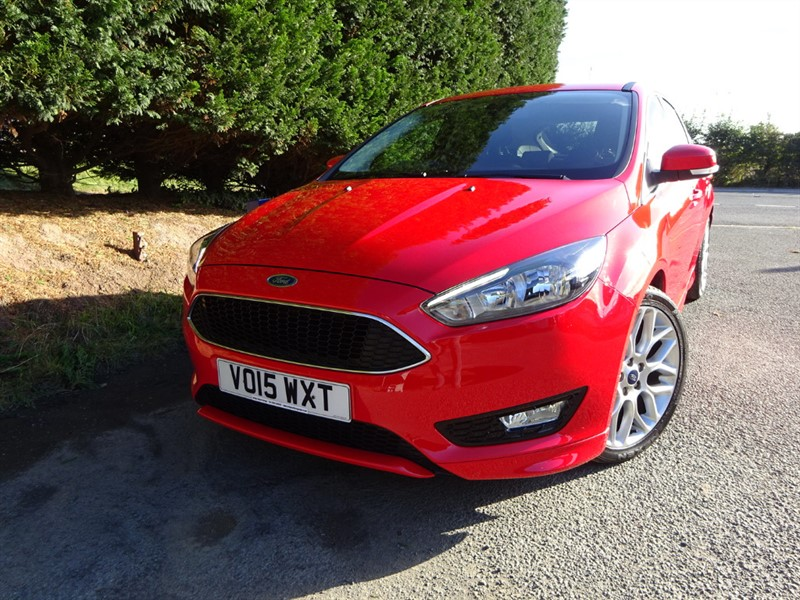 used Ford Focus Zetec-S (125bhp) in herefordshire-for-sale