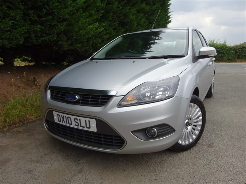 used Ford Focus Titanium (100bhp) in herefordshire-for-sale