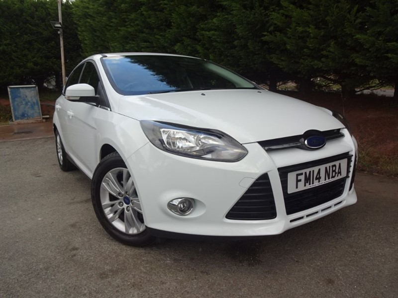 used Ford Focus TDCI Titanium Navigator (115bhp) in herefordshire-for-sale