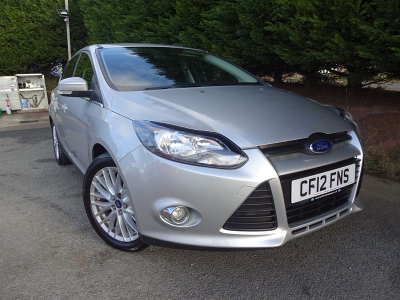 used Ford Focus TDCI Zetec (115bhp) (Appearance Pack) in herefordshire-for-sale