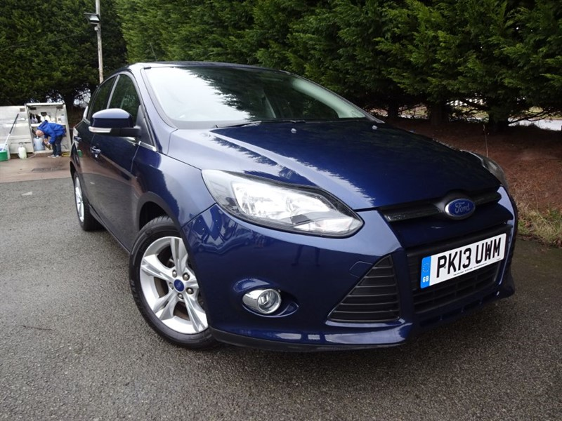 used Ford Focus TDCI Zetec Econetic (NAV) (105bhp) in herefordshire-for-sale