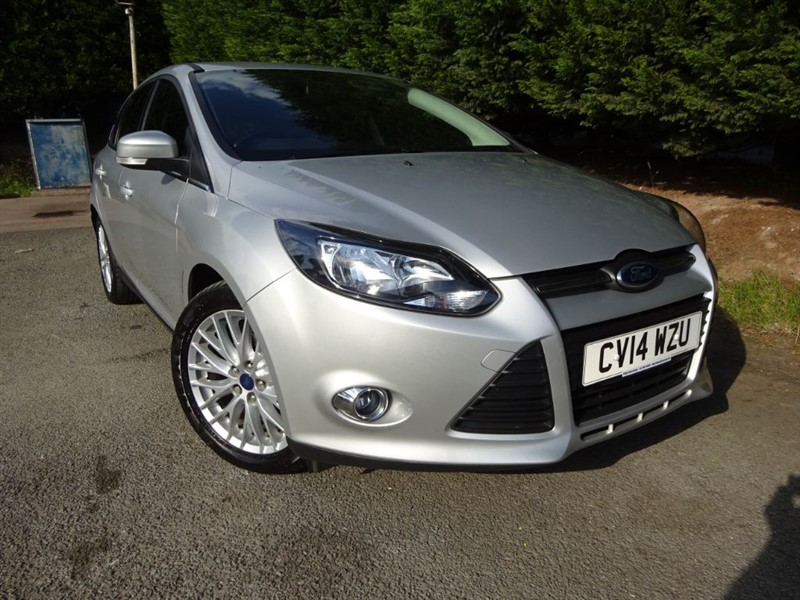 used Ford Focus TDCI Zetec Navigator (115bhp) in herefordshire-for-sale