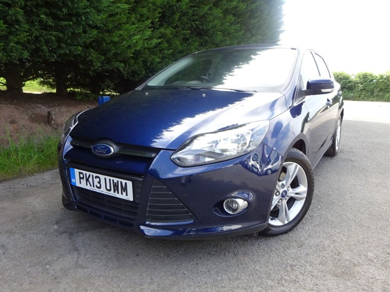 used Ford Focus TDCI Zetec Econetic Navigator (105bhp) in herefordshire-for-sale