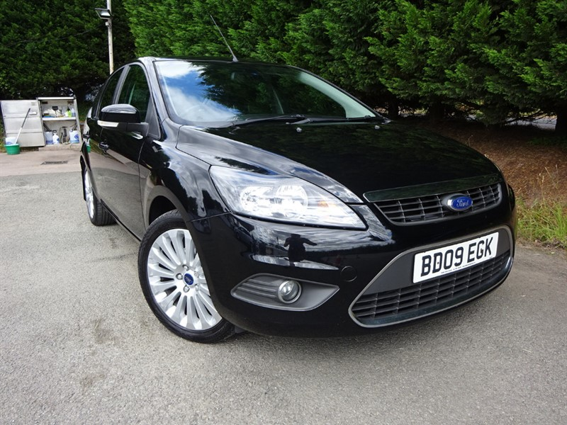 used Ford Focus TDCI Titanium (110bhp) in herefordshire-for-sale