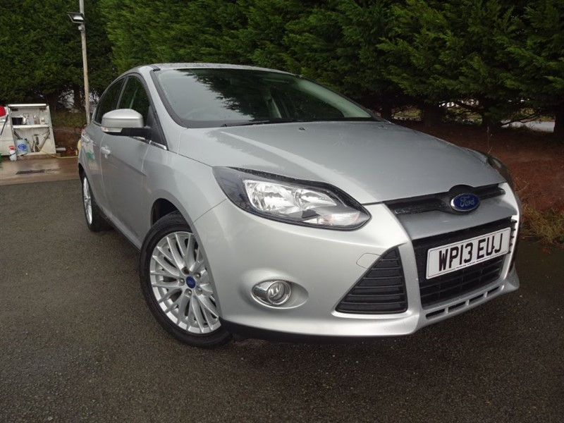 used Ford Focus EcoBoost Zetec (Appearance Pack) (125bhp) in herefordshire-for-sale