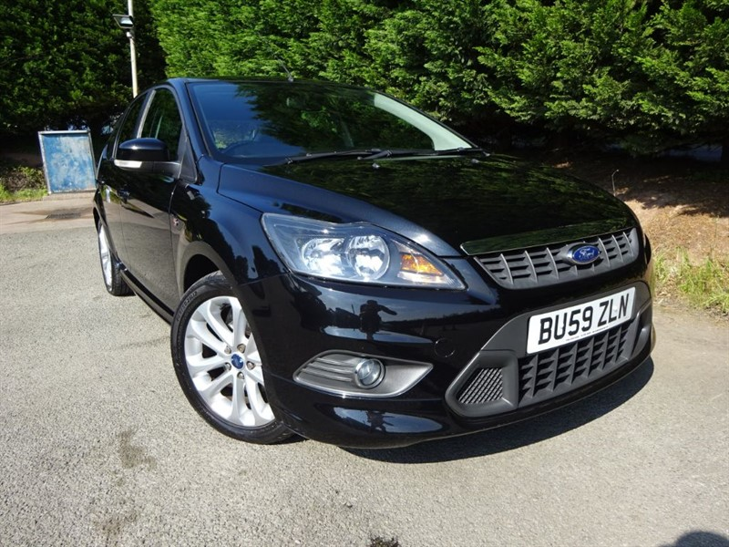 used Ford Focus Zetec-S (115bhp) in herefordshire-for-sale