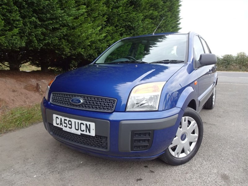 used Ford Fusion Style Plus (80bhp) (Automatic) in herefordshire-for-sale