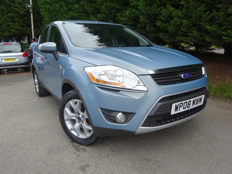 used Ford Kuga TDCI Zetec (AWD) (140bhp) in herefordshire-for-sale