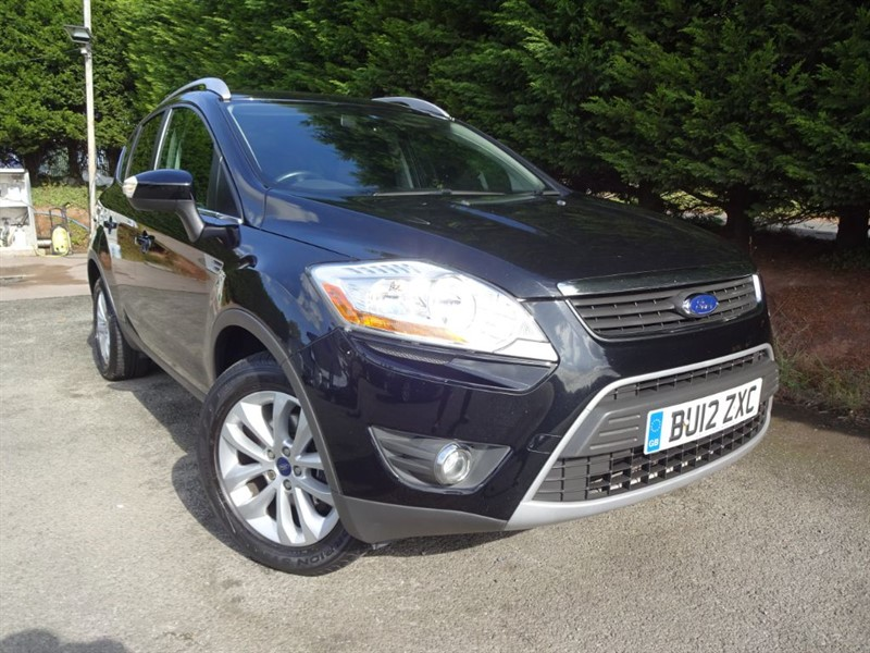 used Ford Kuga TDCI Titanium (160bhp) (AWD) in herefordshire-for-sale