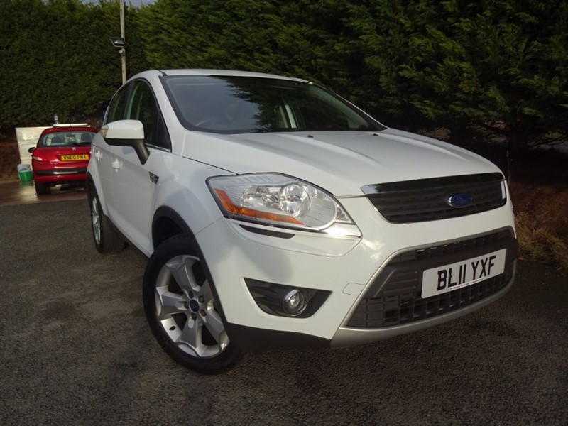 used Ford Kuga TDCI Zetec (140bhp) (2WD) in herefordshire-for-sale