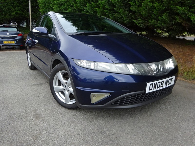 used Honda Civic CTDI ES (140bhp) in herefordshire-for-sale