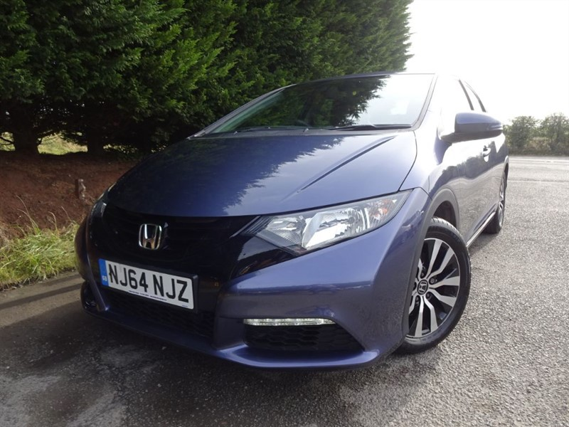 used Honda Civic I-DTEC S-T (Nav) (120bhp) in herefordshire-for-sale