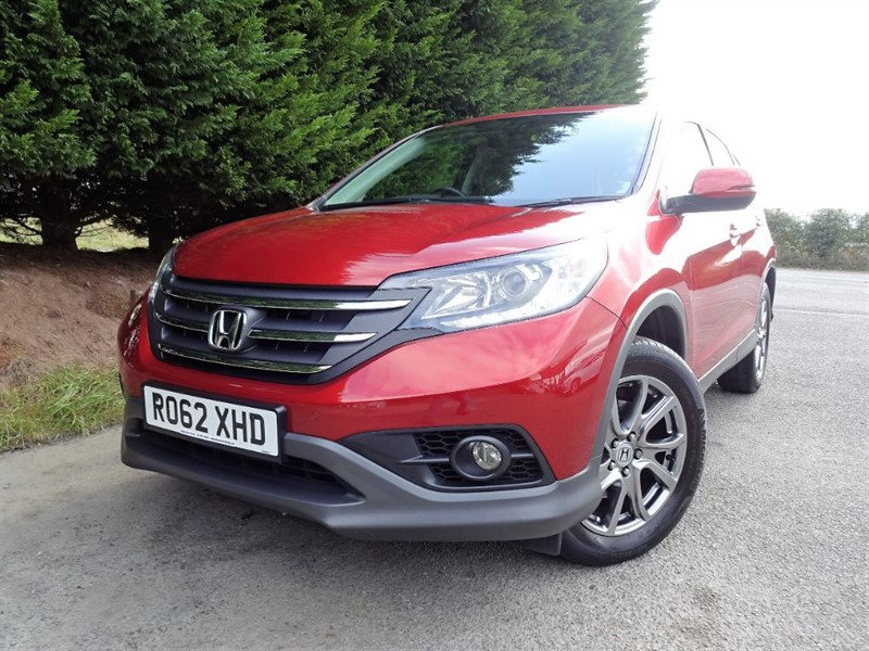 used Honda CR-V I-DTEC SE (150bhp) (4WD) in herefordshire-for-sale