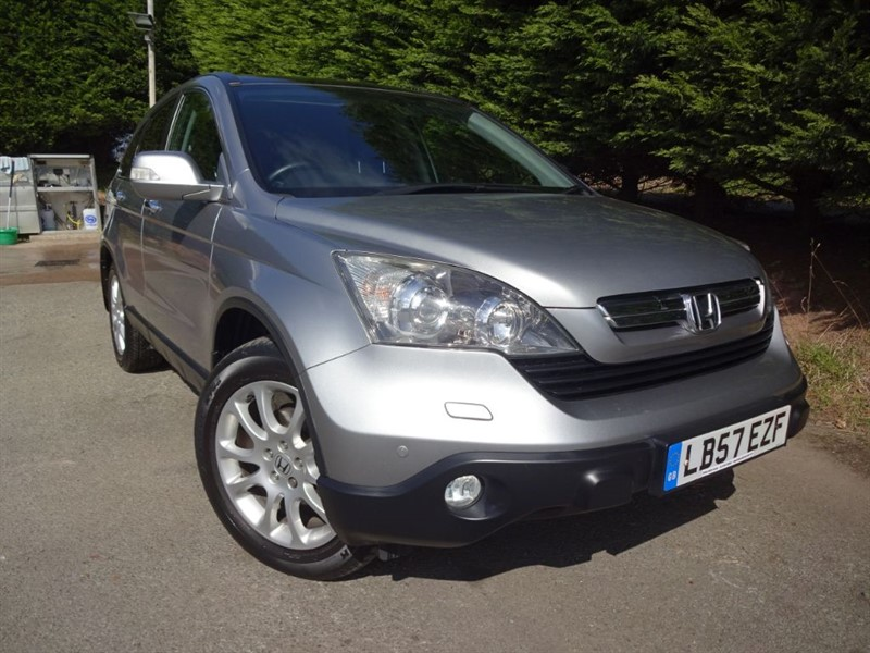 used Honda CR-V I-CTDI EX (140bhp) (AWD) in herefordshire-for-sale