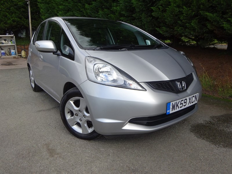 used Honda Jazz I-VTEC ES I-SHIFT (100bhp) (Auto) in herefordshire-for-sale
