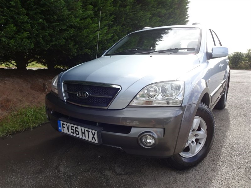 used Kia Sorento CRDI XE (140bhp) (AWD) in herefordshire-for-sale